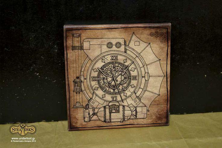Steamonks Clock