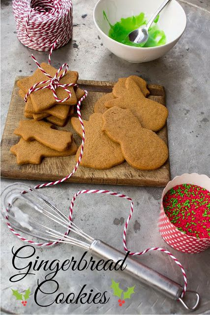 my blissfood: Χριστουγεννιάτικα μπισκότα gingerbread