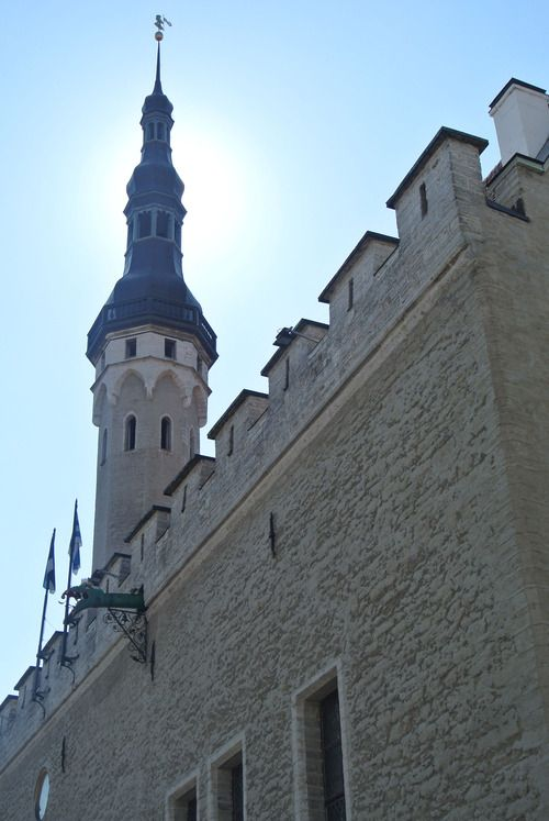Old Town Tallin, Estonia City Hall. I visited there with my family.