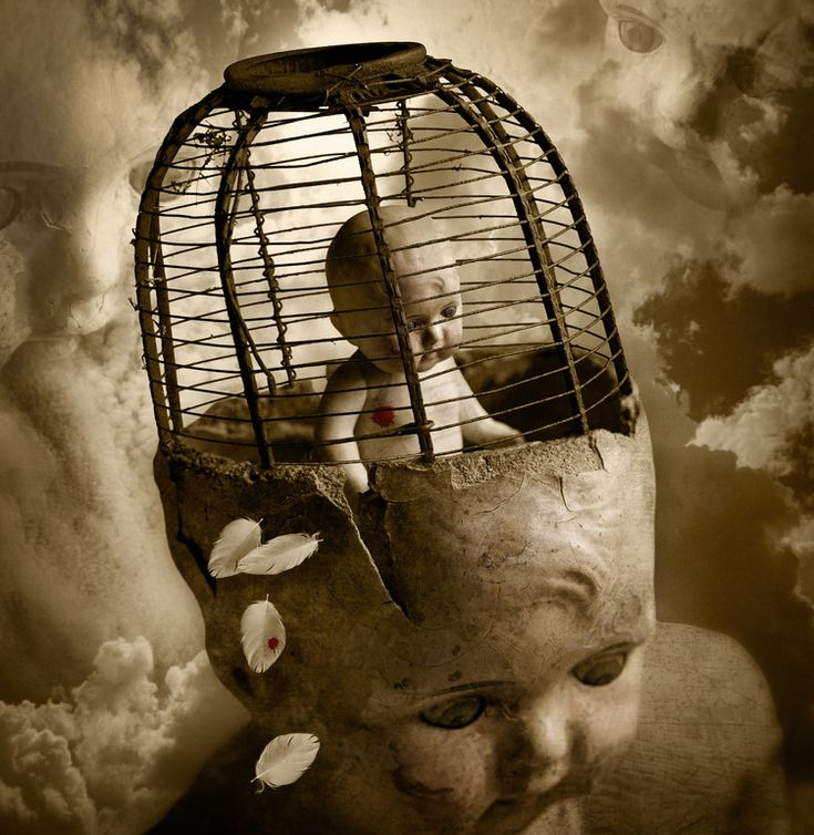 "Saatchi Online Artist: Thomas Francisco; Digital, 2010, Photography ""Bird in a Cage"""