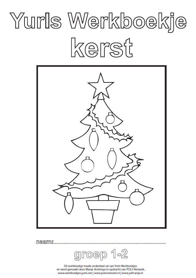 Yurls werkboekje Kerst