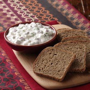 Corned Beef Spread Recipe from Taste of Home :: shared by Pam Reul of Owatonna, Minnesota :: http://pinterest.com/taste_of_home/