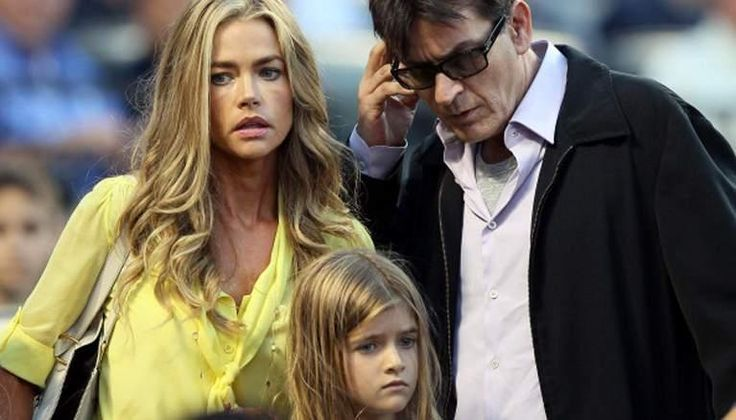 Charlie Sheen Slams Denise Richards on Father's Day