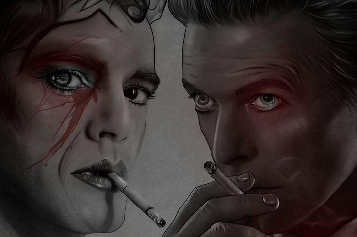 David Bowie & Emmanuel Barrouyer
