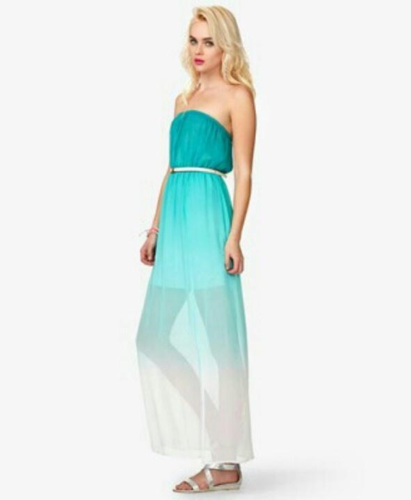 ombre dress forever 21 | ivo hoogveld