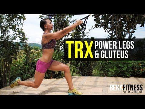 TRX Advanced Fitness Workout - Rebeca Martinez - YouTube