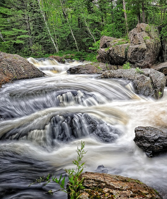 Dead River Falls - Marquette, Michigan by Michigan Nut, via Flickr
