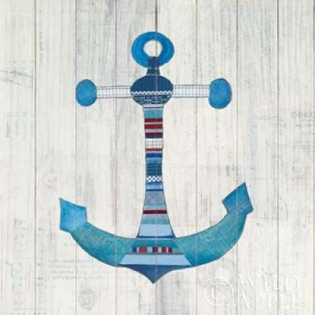 Wind and Waves IV Nautical Canvas Art - Courtney Prahl (24 x 24)