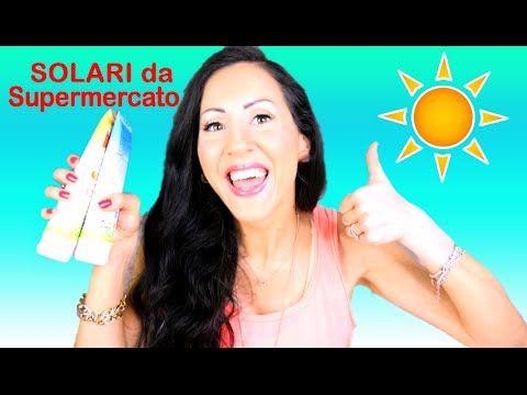 NOVITA' SOLARI DA SUPERMERCATO ECONOMICI con BUON INCI!!!!