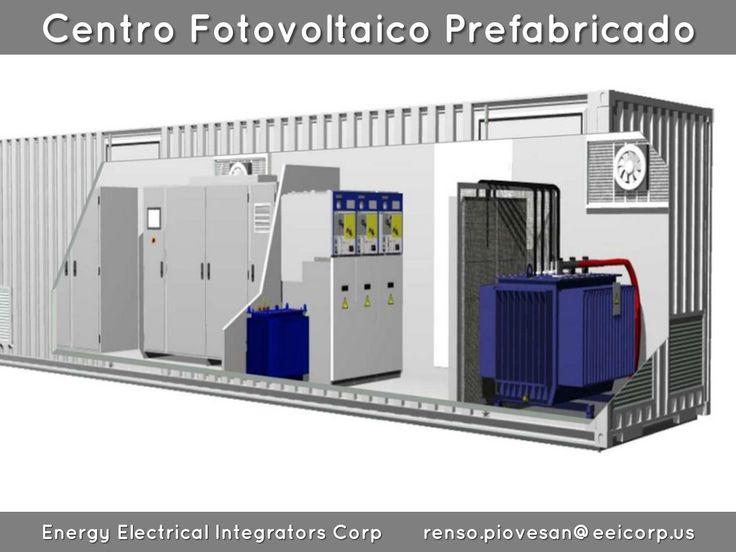 Centro Fotovoltaico Prefabricado Venezuela. Subestacion Movil en Contenedor para…
