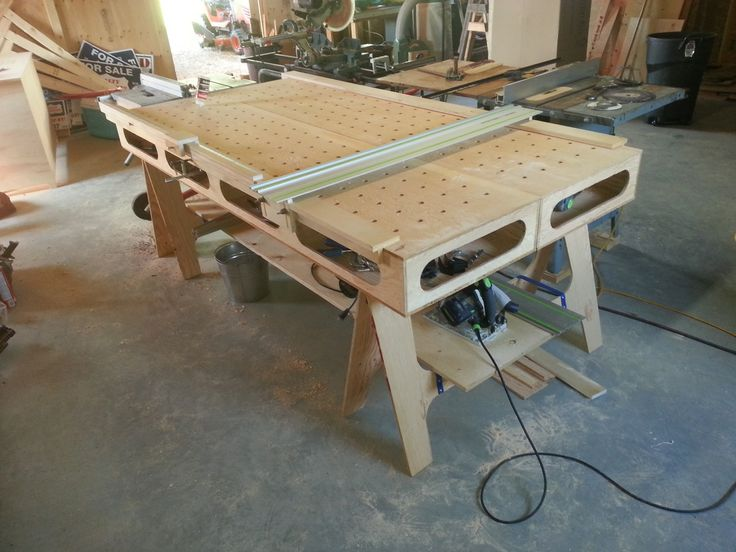 The Paulk Workbench built by Scott