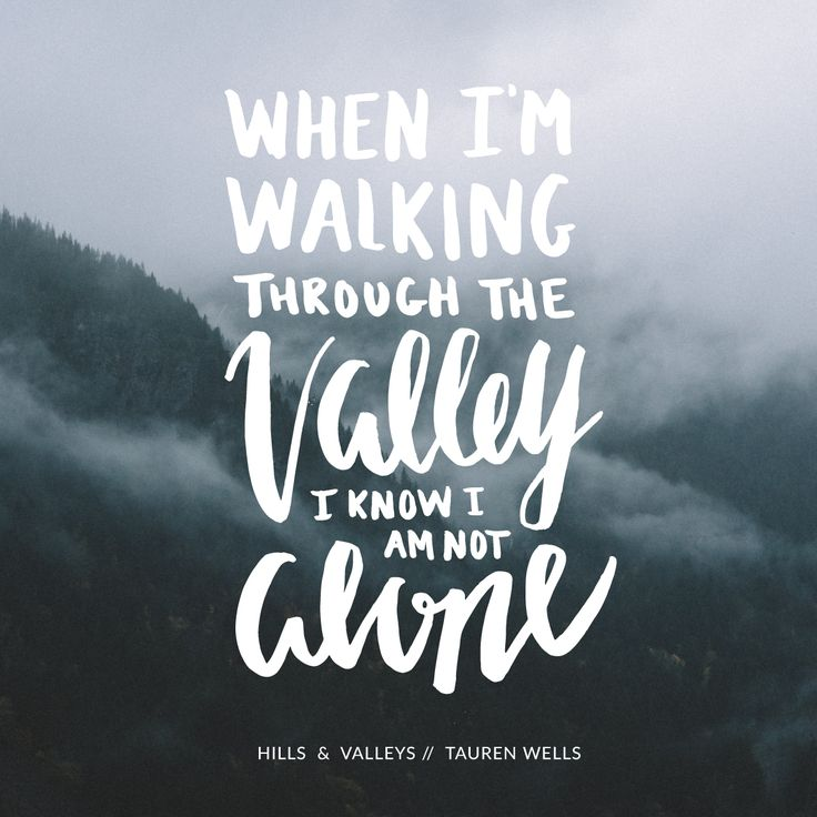 Tauren Wells Hills and Valleys Christian Song Lyrics Britt Lauren Designs Typography Handlettering