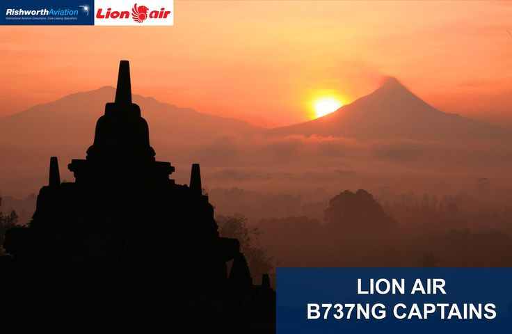**NEW** terms for Lion Air B737NG Captains!  Apply today - http://ow.ly/URO4F  #RishworthAV #aviation #jobs