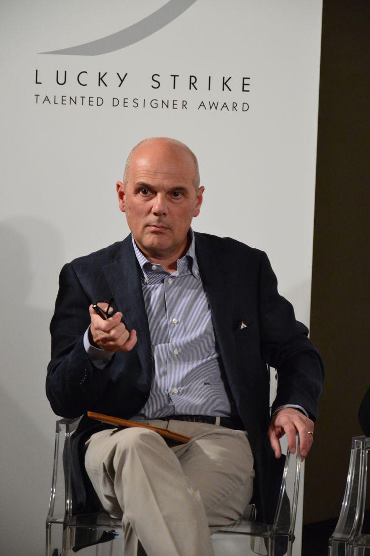 Mauro Guzzini (chief product  innovation officer #Teuco), jury member #LuckyStrike talented #Designer Award.