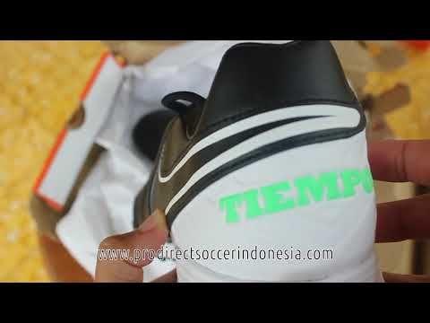 Sepatu Futsal Nike Tiempox Mystic V TF Black White 819224 002 Original