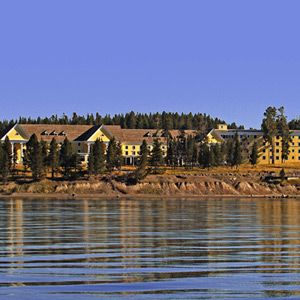 Lake Yellowstone Hotel -- Georgian architecture, string quartets in the lobby—it'sis like Jane Austen in the Rockies!