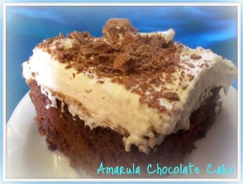 Amarula Chocolate Cake .. oh. my. word! - I seriously want this now.