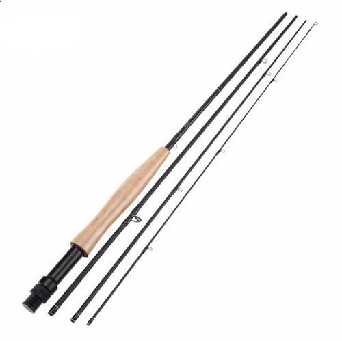 Fishing Rods - Fly Fishing Rod Pole 5/6wt Carbon Fibre 4 piece