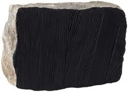 pierre soulages style rock