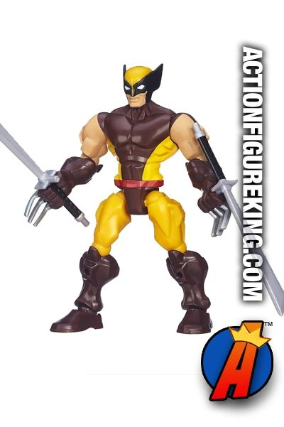 Brand new second edition Wolverine 6-Inch Marvel Super Hero Mashers from Hasbro. Full details on our site. #venom #actionfigures #marvelsuperheromashers