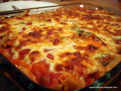 Finding Joy in My Kitchen: Three Cheese Ziti