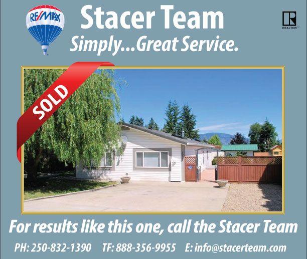 #StacerTeam #RealEstate #ShuswapRealEstate #ShuswapHomes #Sold www.stacerteam.com