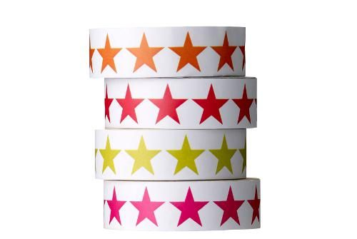 Masking tape Etoiles - Set de 4