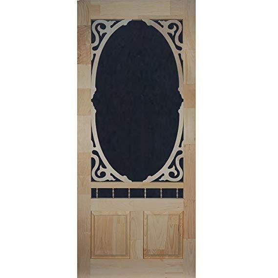 Screen Door Wood Clarington 80 In X 32 In Wood Doors Interior Screen Door Wood Screen Door