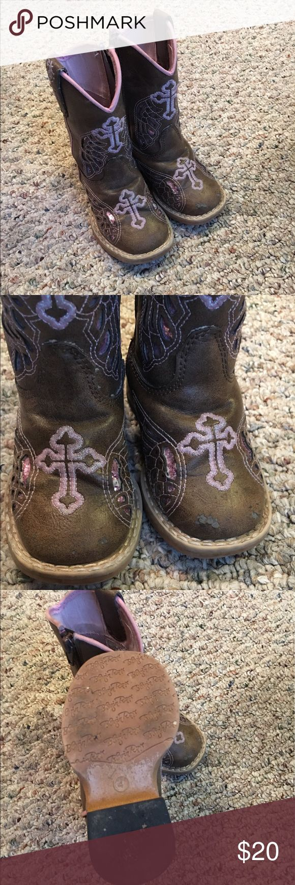 Toddler cowgirl boots size 4 Toddler cowgirl boots size 4 Shoes Winter & Rain Boots