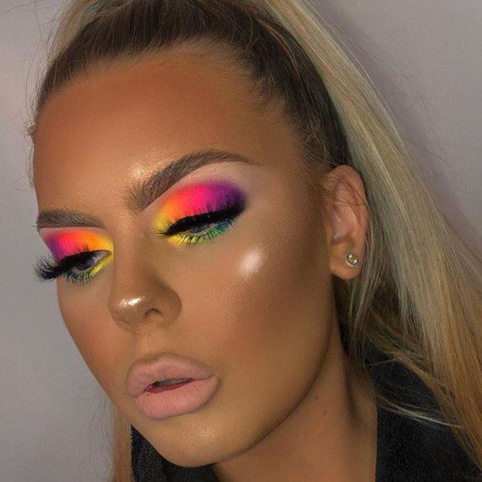 Rainbow Eyeshadow Is The Prettiest Makeup Trend This Spring