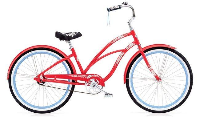 Велосипед Electra Hawaii Custom 3i Ladies' Blue metallic купить в Киеве, цена, отзывы — интернет-магазин Veliki.com.ua