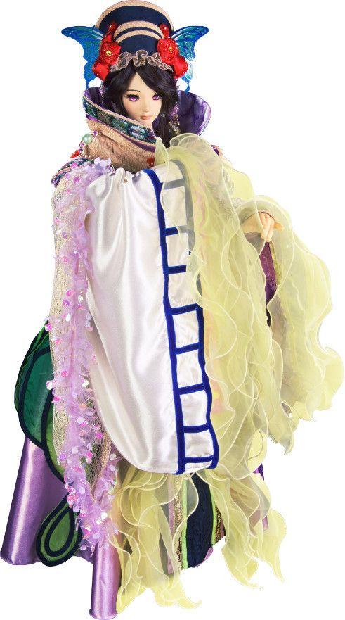 Thunderbolt Fantasy: Mai Nakahara as the voice of Dān Fēi (Tan Hi), character designed by Shinov Mimori. #puppetry