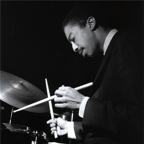 Photo gallery of drummers and percussionists featured in DANGEROUS ILLUSIONS, from Baby Dodds, Chick Webb, and Gene Krupa to Joe Morello and Ringo Starr.