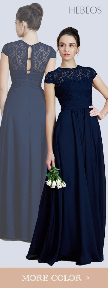 HEBEOS style 72024. Any of our brides looking for navy blue bridesmaid dresses? Shop HEBEOS 2018 new bridesmaid dresses collection. More than 28 colors!