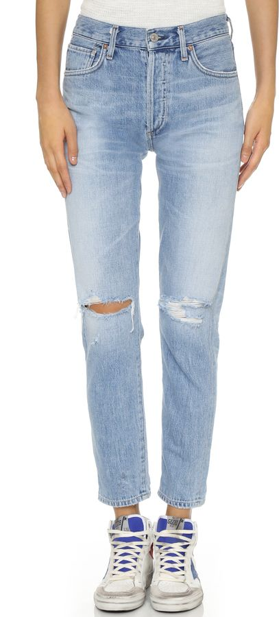 ::Citizens of Humanity Liya High Rise Classic Fit Jeans::