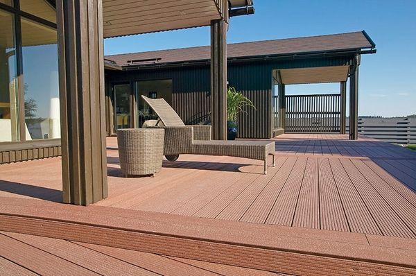 Composite-Terrassendielen – moderne Technologie für die Terrassengestaltung
