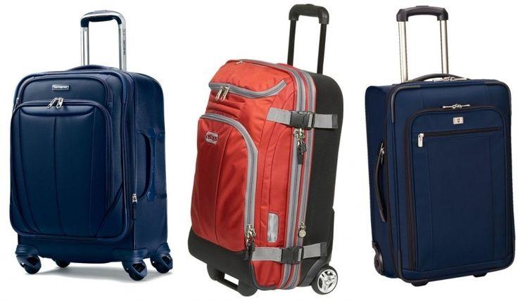 18 Carry On Luggage Wheeled