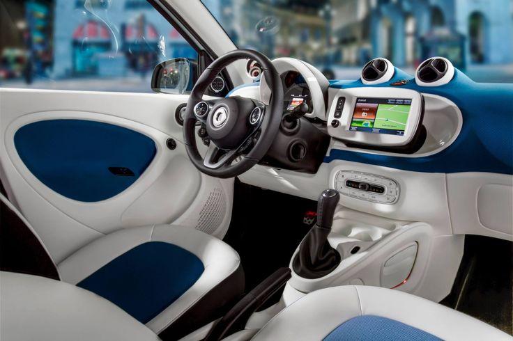 2014 smart interior - εσωτερικό του νέου smart