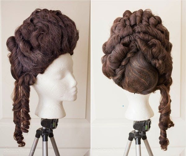 "American Duchess: Test Driving ""18th Century Hair & Wig Styling - The Book"""