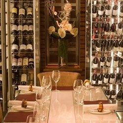 Private dining with bespoke menu and wine pairing for up to six at Alyn Williams at the Westbury