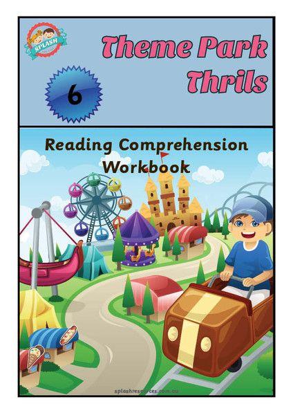 Reading Comprehension Workbook - Theme Park Thrills – Splash Resources