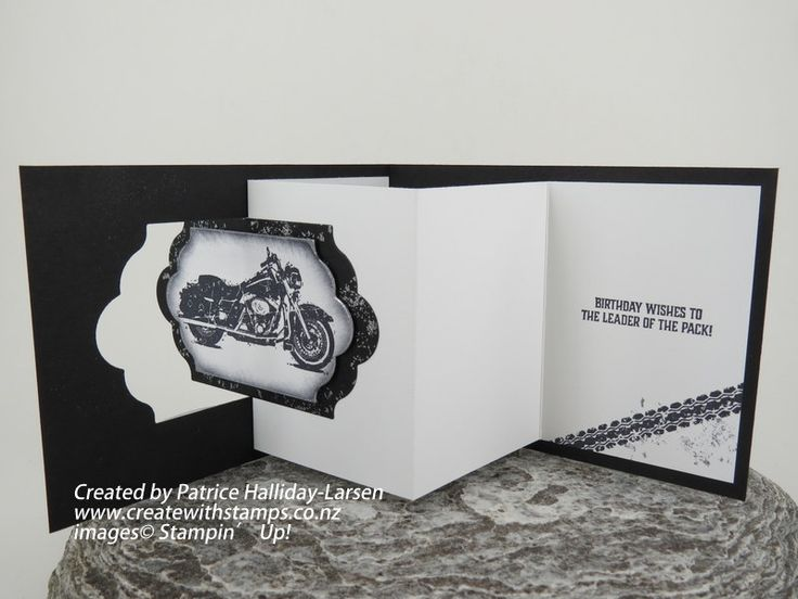 Lever Card Fancy Fold Blog Hop #FF06 - Create With Stamps