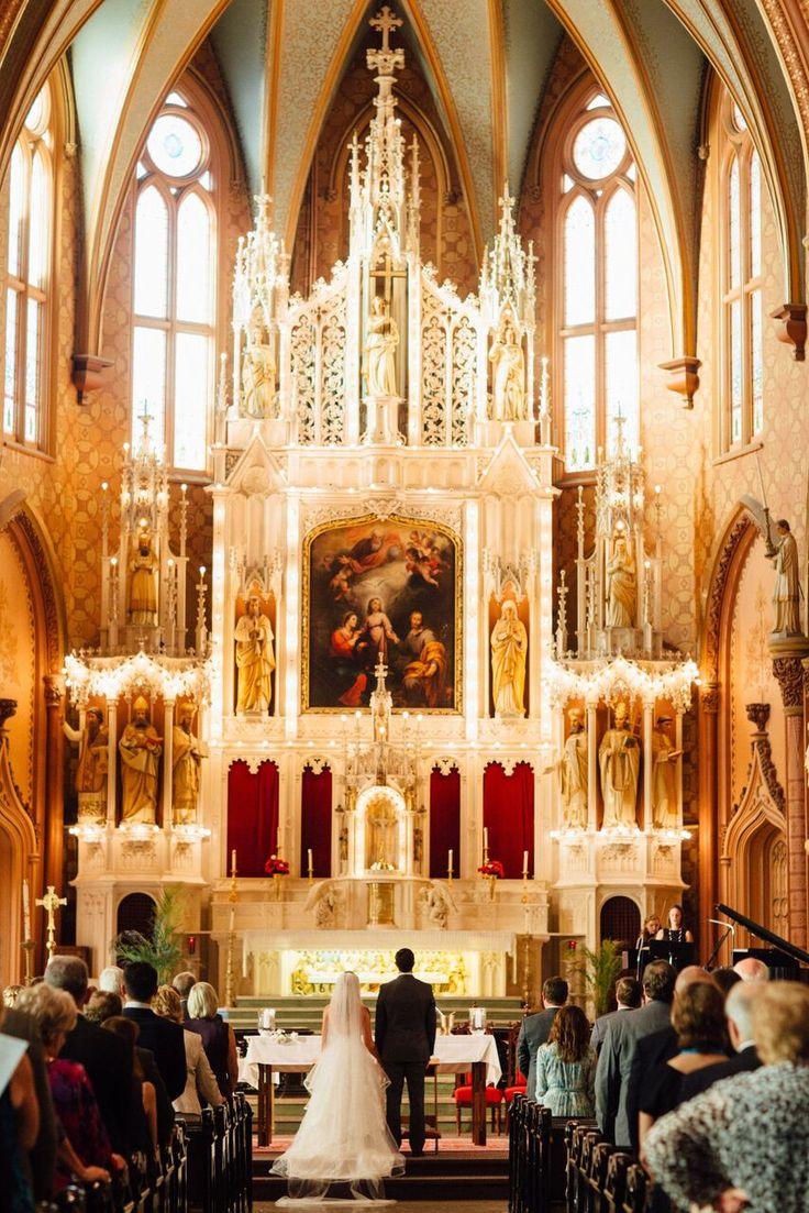Holy Family Catholic Church Chicago, IL Wedding
