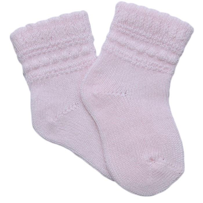 Calcetin calado rosa | Sock pink