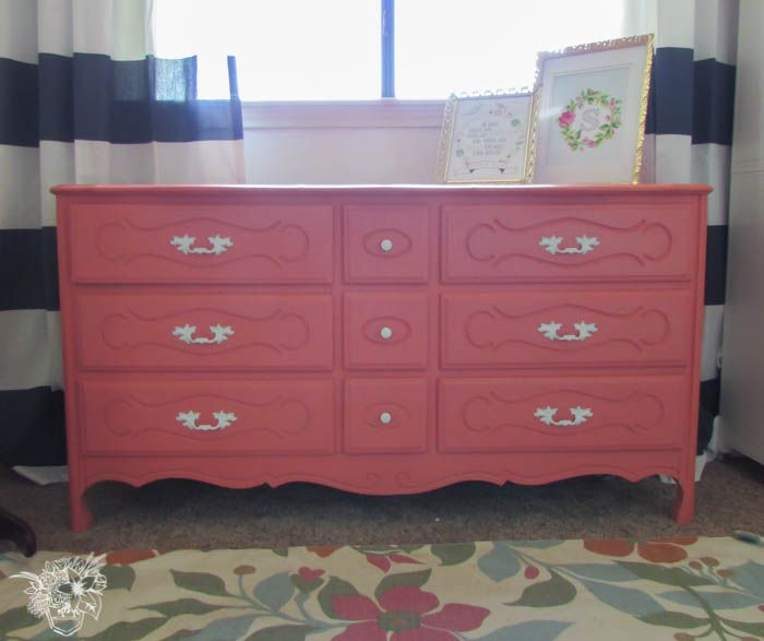 A Deux of French Dresser Makeovers — Pocketful of Posies