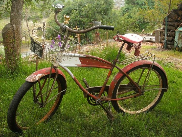 1955 Mercury bicycle.