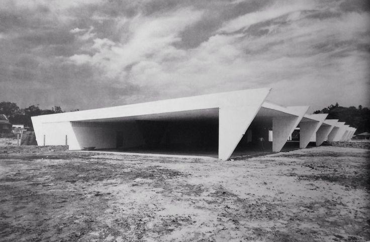 Clássicos da Arquitetura: Ginásio Estadual de Itanhaém / João Batista Vilanova Artigas e Carlos Cascaldi