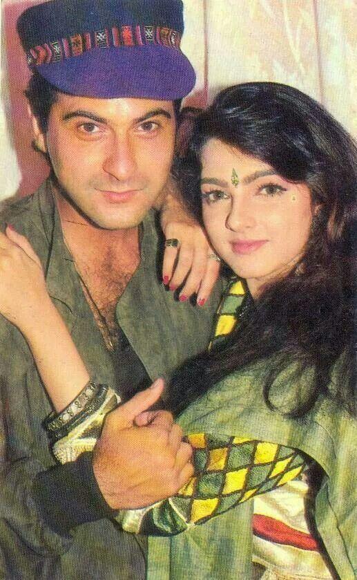 Sanjay Kapoor and Mamta Kulkarni
