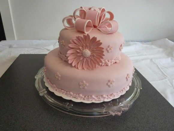 Pink cake from one of our readers