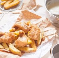 This recipe for deluxe Country Style Fish and Chips is perfect for a weekend lunch